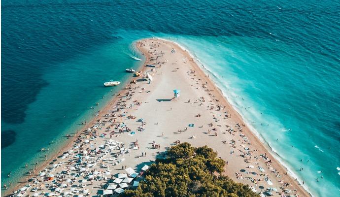 Nejlepší pláže v Chorvatsku u moře